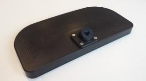 Top side of plastic prototype head