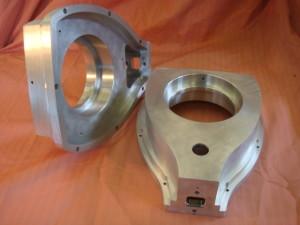 Telecentric arms in aircraft grade aluminium