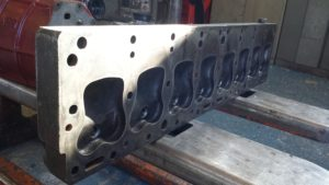 very long cylinder head