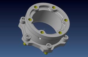 52mm steel drive couple in design