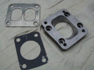 Turbo adapter plate