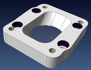 turbo plate CAD