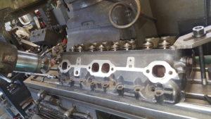 Exhaust port refacing